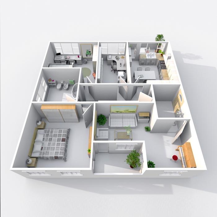 tamanhos de apartamento