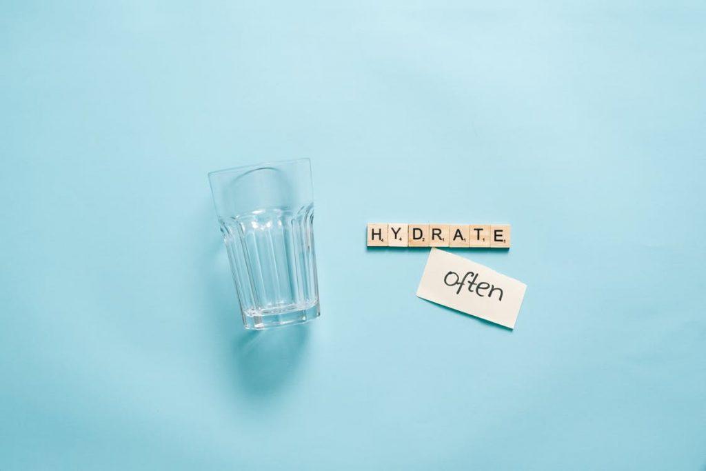 agua hidratacao