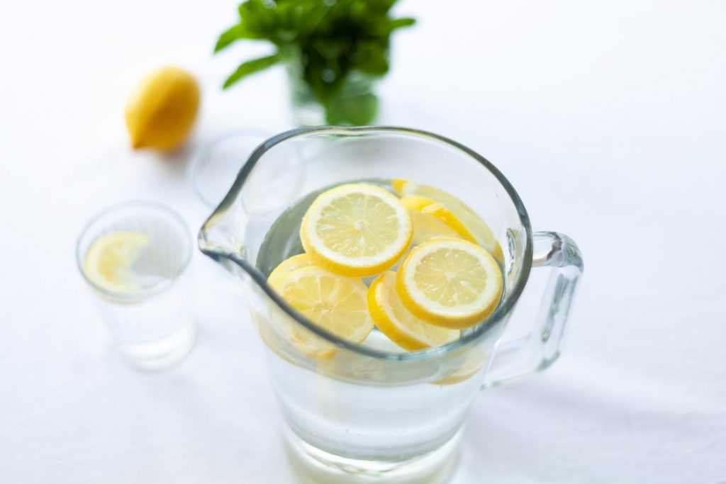 agua pura limao